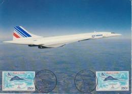 Oceanie:Concorde  .Premier  Jour  21 /1/1976 Mata  Hutu - Oblitérés