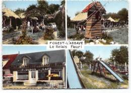 FOREST L'ABBAYE - LE RELAIS FLEURI MULTIVUES Café Dubos.  1964 - Frankreich