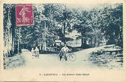 Côtes D Armor -ref-D141- Langourla - Les Avenues Saint Joseph - Carte Bon Etat - - Frankreich