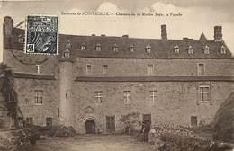 Côtes D Armor -ref-D139- La Roche Jagu - Environs De Pontrieux - Façade Du Chateau - Chateaux - Carte Bon Etat - - Frankreich