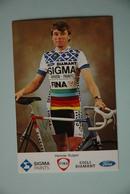 CYCLISME: CYCLISTE : HENNIE KUIPER Signée - Cyclisme