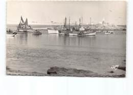 LESCONIL - Menez Groas.   Edit Artaud  Bateaux Pêche Pêcheurs - Lesconil