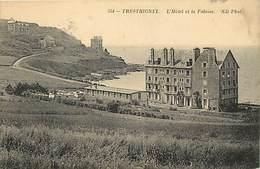 Côtes D Armor -ref-D137- Trestignel - Hotel Et Falaises - Hotels - Carte Bon Etat - - Frankreich