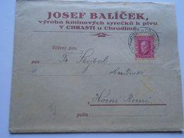 ZA250.15 Czechoslovakia Chrast Bei Chrudim -  Chrast U Chrudimě - Josef Balicek  - Roveň  1926 - Briefe U. Dokumente