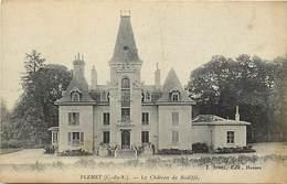 Côtes D Armor -ref-D136- Plemet - Chateau De Bidiffé - Chateaux - Carte Bon Etat - - Frankreich