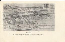Senones (Vosges) Capitale De La Principauté Salm Au XVIIIe Siècle, Gravure D'Epoque - Carte Ad. Weick N° 1867 - Senones