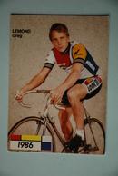 CYCLISME: CYCLISTE : GREG LEMOND - Cyclisme