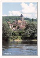 VETHEUIL Eglise Notre Dame Vue De La Seine (SCAN RECTO VERSO)MA007 - Autres Communes