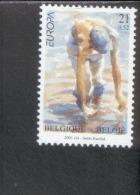 CEPT Lebensspender Wasser Belgien 3039  ** MNH Postfrisch - 2001