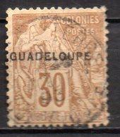 Col17  Colonie Guadeloupe  N° 22 Oblitéré  Cote 36,00 € - Guadeloupe (1884-1947)