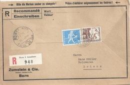 """R Brief  """"Zumstein Bern"""" - Brienz            1961 - Svizzera"""