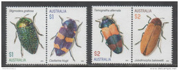 AUSTRALIA, 2016, MNH, INSECTS, BEETLES,  4v - Insects