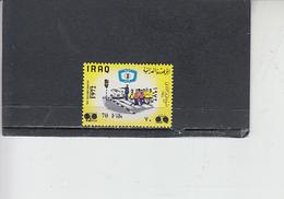 IRAQ  1972 - Yvert  695D** - Circolazione Stradale - Iraq