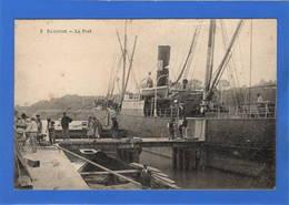 64 PYRENEES ATLANTIQUES - BAYONNE Le Port, Déchargement Ou Chargement D'un Cargo - Bayonne
