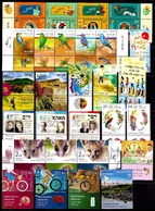 ISRAEL 2019 YEAR SET - The Complete Annual Stamps & Souvenir Sheets Collection - MNH - Collections, Lots & Series