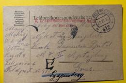 9564 -  Landwehrulanenregiment Nr 3 Feldpostamt 2 20 11.1916 - Covers & Documents