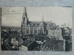 ST INGBERT              KAISERSTRABE MIT ST JOSEFSKIRCHE - Saarpfalz-Kreis