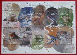 Beleef Natuur Kikker Frog Frosch Grenouille Lizard Lézard Snake Slang 2018 POSTFRIS MNH ** NEDERLAND NETHERLANDS - Unused Stamps