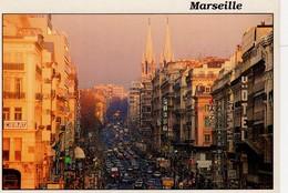 Marseille La Canebière ( Hôtel , Barclays Bank Banque , Piery , André .... - Canebière, Centro Città