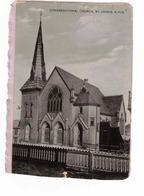 ST. JOHN'S, Newfoundland, Canada, Congregational Church, Pre-1920 Postcard - St. John's