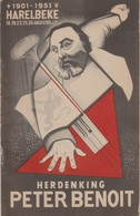 Harelbeke Peter Benoit 1951 Herdenking - Harelbeke