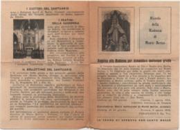 Santino Ricordo Della Madonna Di Monte Berico (Vicenza). Anno 1916 - Santini