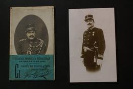 Bruxelles / EXPOSITION UNIVERSELLE 1910 -carte De Circulation GENDARME-COMMISSAIRE POLICE - Expositions Universelles
