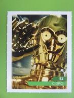 Carte - Autocollant - Sticker Star Wars - Leclerc 2019 - N° 52 - C-3PO - Star Wars