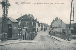 120 Vilvoorde Le Pont Du Canal Vers Grimberghen - Vilvoorde