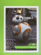 Carte - Autocollant - Sticker Star Wars - Leclerc 2019 - N° 66 - BB-8 - Star Wars