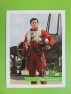 Carte - Autocollant - Sticker Star Wars - Leclerc 2019 - N° 69 - Poe Dameron - Star Wars