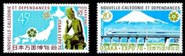 NOUV.-CALEDONIE 1970 - Yv. PA 117 Et 118 **   Cote= 16,40 EUR - Expo Universelle D'Osaka (Japon)  ..Réf.NCE24761 - Nuevos