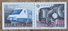 Suède - YT N°1478, 1479 - Europa / Transport Et Communication - 1988 - Neufs - Nuevos