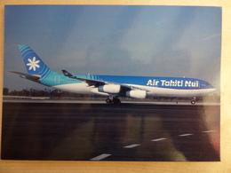 AIRBUS A 340-200  AIR TAHITI / NUI   F-OITN - 1946-....: Era Moderna