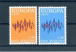 A25617)San Marino 997 - 998**, Cept - San Marino