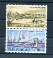 A25619)San Marino 1025 - 1026 Paar** - San Marino