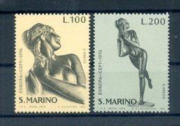 A25623)San Marino 1067 - 1068**, Cept - San Marino