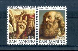A25624)San Marino 1088 - 1089**, Cept - San Marino