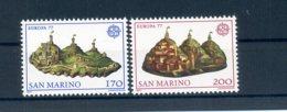 A25625)San Marino 1131 - 1132**, Cept - San Marino