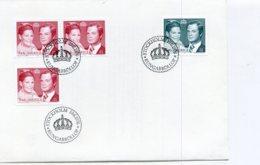 A25664)Schweden FDC 952 - 953 A + D - Briefe U. Dokumente