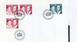 A25665)Schweden FDC 952 - 953 A + D - Briefe U. Dokumente