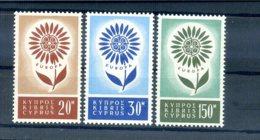 A25873)Zypern 240 - 242**, Cept - Ungebraucht