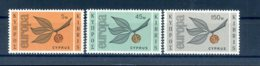 A25874)Zypern 258 - 260**, Cept - Ungebraucht