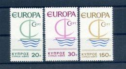A25875)Zypern 270 - 272**, Cept - Ungebraucht