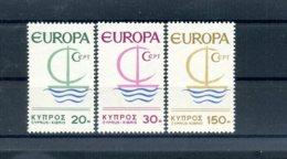 A25876)Zypern 270 - 272**, Cept - Ungebraucht