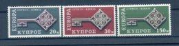 A25882)Zypern 307 - 309**, Cept - Ungebraucht