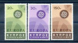 A25880)Zypern 292 - 294**, Cept - Ungebraucht