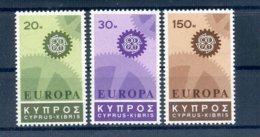 A25881)Zypern 292 - 294**, Cept - Ungebraucht