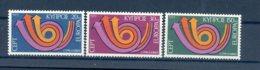A25890)Zypern 389 - 391**, Cept - Ungebraucht