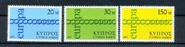 A25887)Zypern 359 - 361**, Cept - Ungebraucht